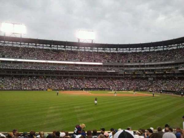 Guaranteed Rate Field, secção: 160, fila: 16, lugar: 13