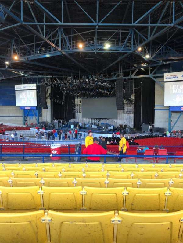 American Family Insurance Amphitheater, secção: 5, fila: H, lugar: 27