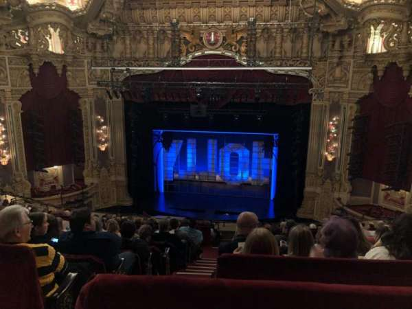 James M. Nederlander Theatre, secção: Balcony rc, fila: M, lugar: 320