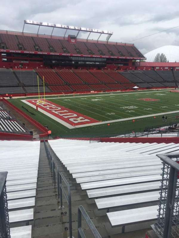 High Point Solutions Stadium, secção: 131, fila: 40