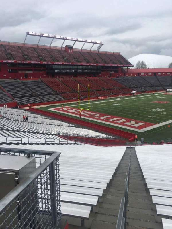 High Point Solutions Stadium, secção: 132, fila: 31