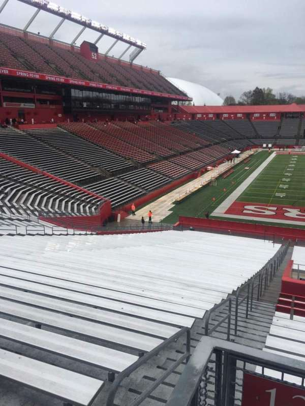 High Point Solutions Stadium, secção: 138, fila: 43