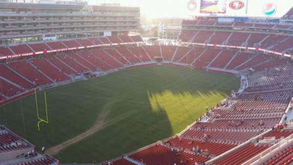 Levi's Stadium, secção: 419, fila: 5, lugar: 17