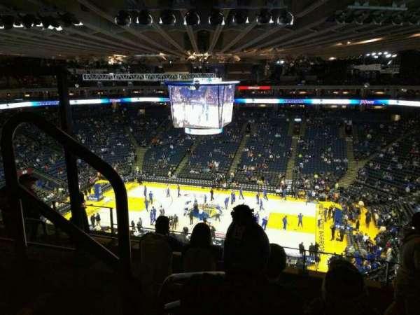 Oracle Arena, secção: 231, fila: 6, lugar: 9