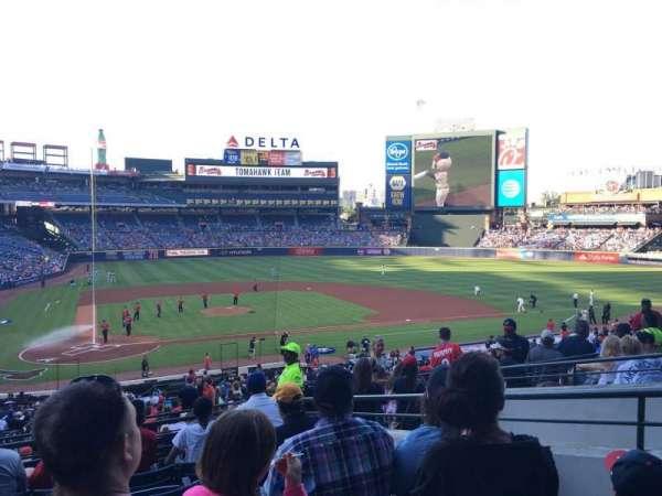 Turner Field, secção: 205R, fila: 7, lugar: 5