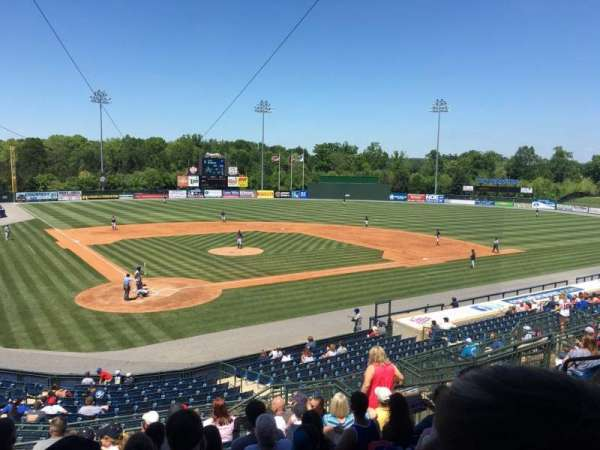 State Mutual Stadium, secção: 203, fila: 14, lugar: 10