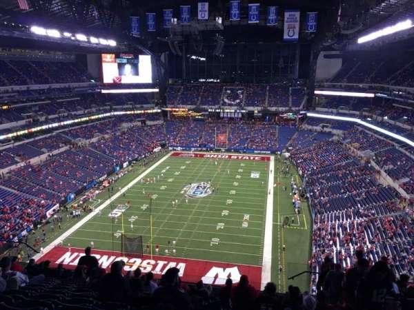 Lucas Oil Stadium, secção: 625, fila: 13, lugar: 3