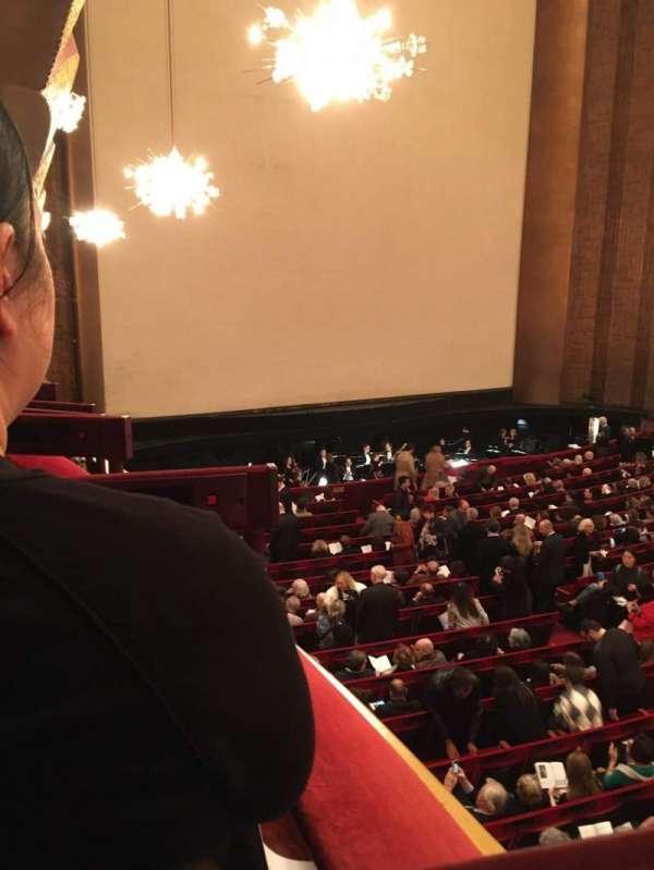 Metropolitan Opera House - Lincoln Center, secção: Parterre Box 11, lugar: 1