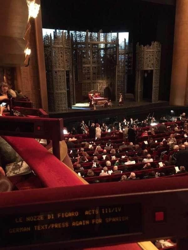 Metropolitan Opera House - Lincoln Center, secção: Parterre Box 11, lugar: 2