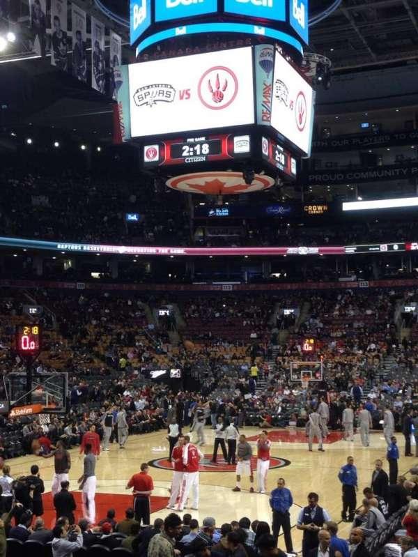 Scotiabank Arena, secção: 101, fila: 10, lugar: 7