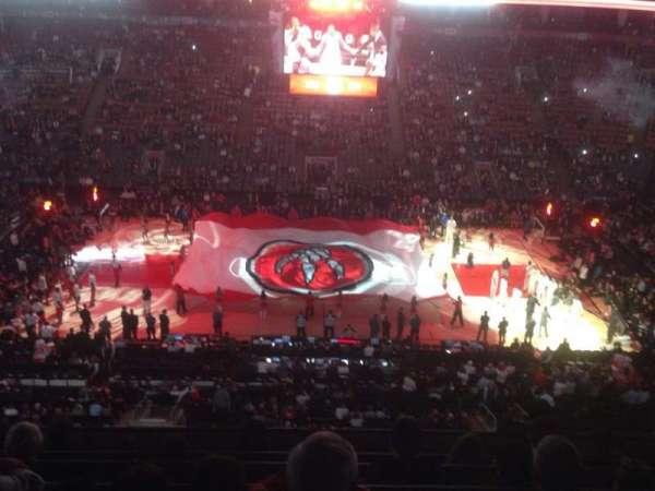 Scotiabank Arena, secção: 321, fila: 7, lugar: 14