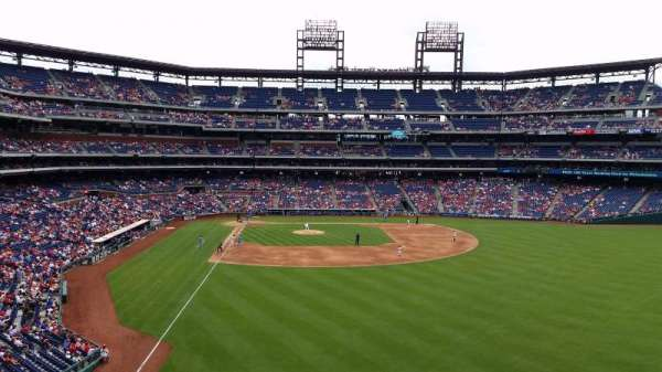 Citizens Bank Park, secção: 204, fila: 1, lugar: 21