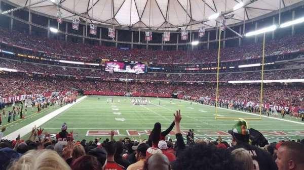 Georgia Dome, secção: 127