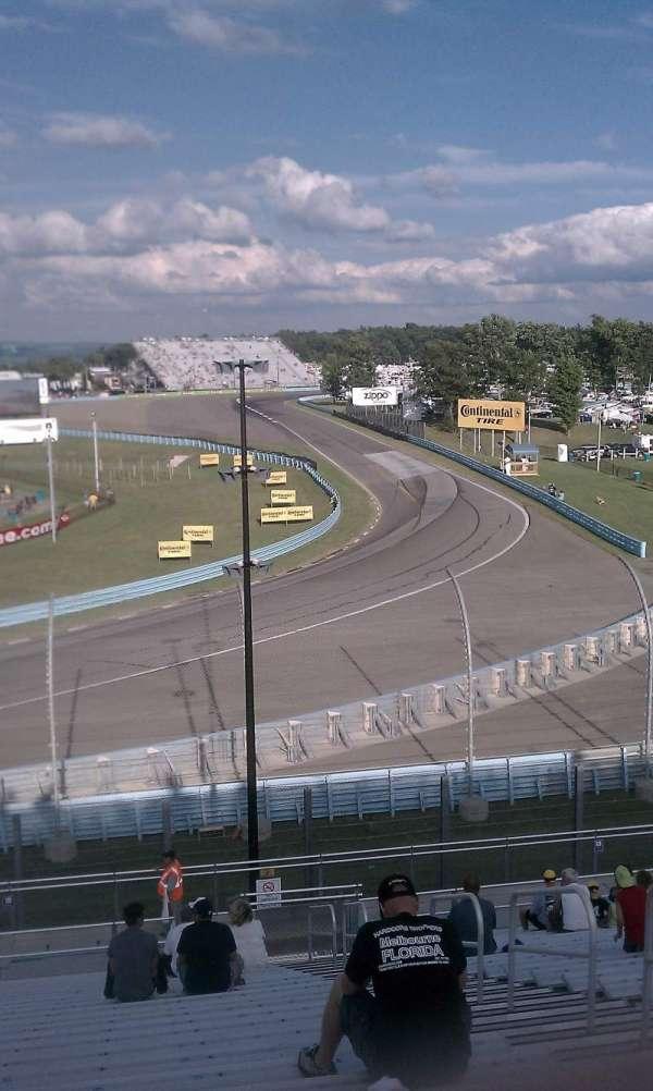 Watkins Glen International, secção: Riesbeck Grandstand, fila: 22, lugar: 4