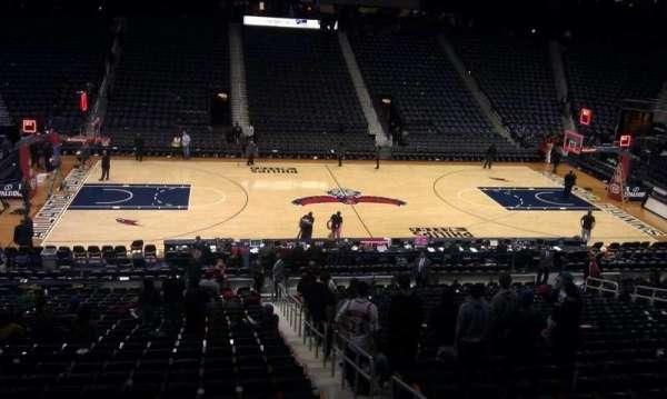 State Farm Arena, secção: T22, fila: A, lugar: 7