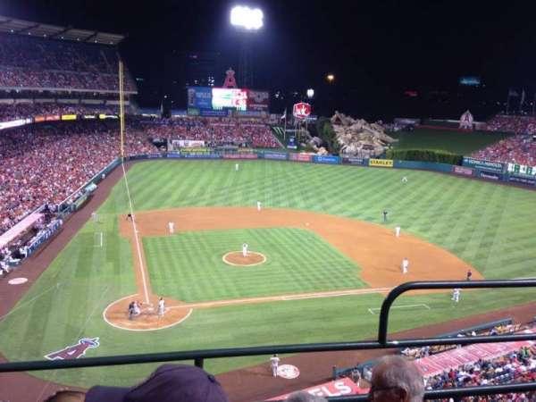 Angel Stadium, secção: V422, fila: C, lugar: 12