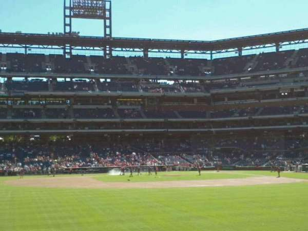 Citizens Bank Park, secção: 144, fila: 3, lugar: 16