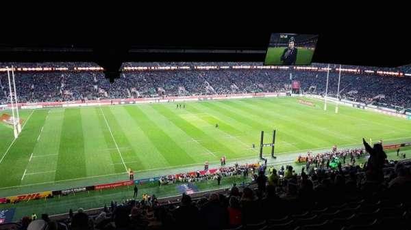 Twickenham Stadium, secção: M10, fila: 75, lugar: 252