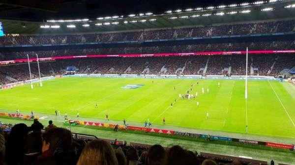 Twickenham Stadium, secção: M3, fila: 70, lugar: 67