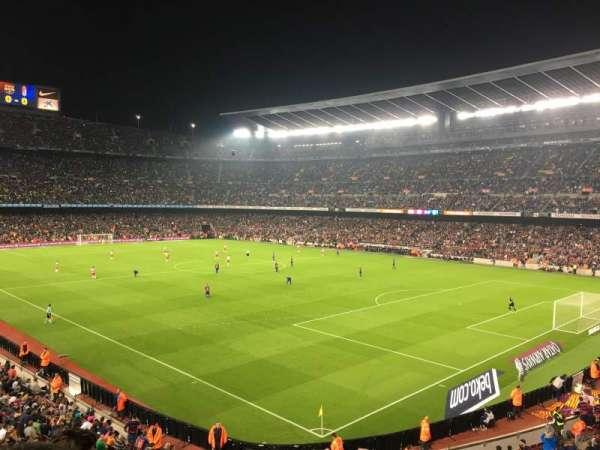 Camp Nou, secção: 238, fila: 3, lugar: 12