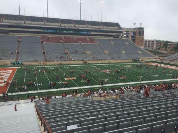 Texas Memorial Stadium, secção: 8, fila: 51, lugar: 2