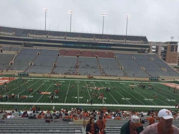 Texas Memorial Stadium, secção: 6, fila: 51, lugar: 25