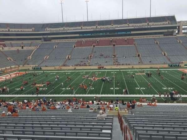 Texas Memorial Stadium, secção: 5, fila: 51, lugar: 25