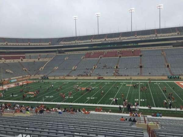 Texas Memorial Stadium, secção: 4, fila: 51, lugar: 25