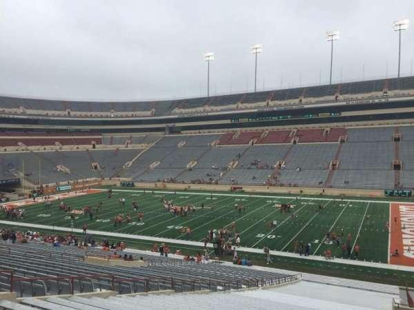 Texas Memorial Stadium, secção: 2, fila: 51, lugar: 10