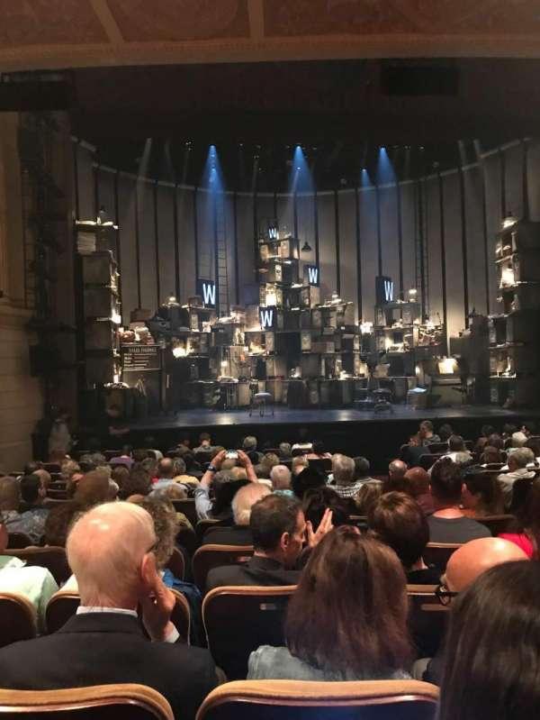 Samuel J. Friedman Theatre, secção: Orchestra L, fila: M, lugar: 107
