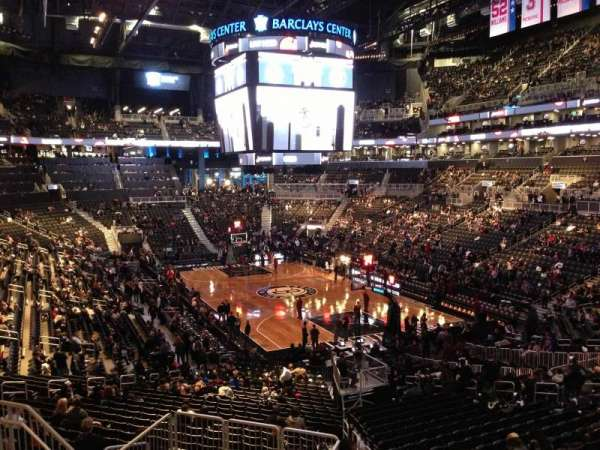 Barclays Center, secção: 118, fila: 7, lugar: 7