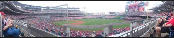 Nationals Park, secção: 227, fila: A, lugar: 18