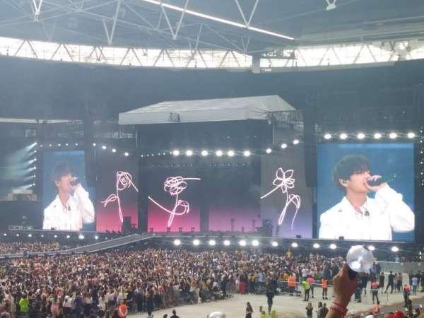 Wembley Stadium, secção: 104, fila: 27, lugar: 49