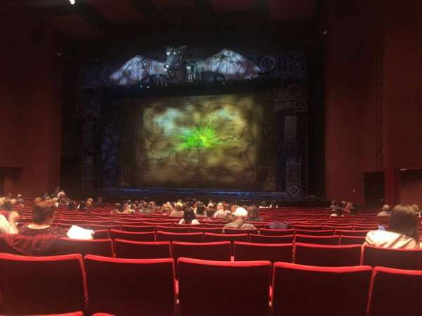 San Diego Civic Theatre, secção: Orchestra 2, fila: S, lugar: 30