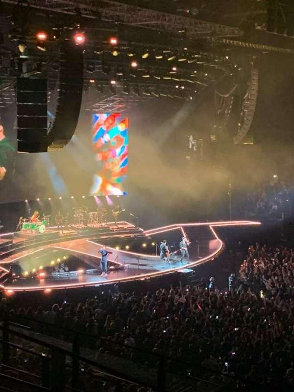 Sud De France Arena, secção: A4, fila: 7, lugar: 8