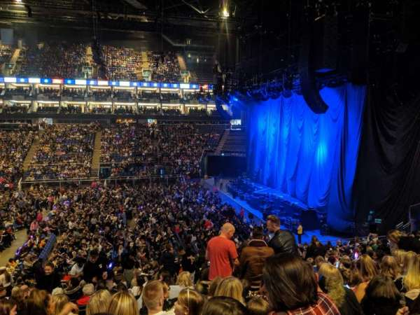 The O2 Arena, secção: 112, fila: A, lugar: 40