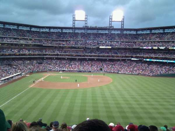 Citizens Bank Park, secção: 203, fila: 11, lugar: 15