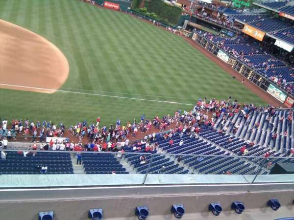 Citizens Bank Park, secção: 314, fila: 4, lugar: 18