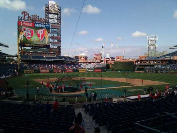 Citizens Bank Park, secção: 122, fila: 27, lugar: 2