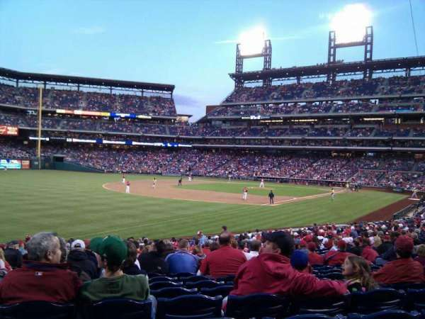 Citizens Bank Park, secção: 137, fila: 27, lugar: 16