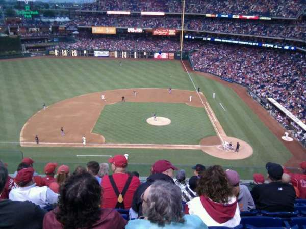 Citizens Bank Park, secção: 325, fila: 7, lugar: 19