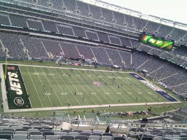 MetLife Stadium, secção: 318, fila: 20, lugar: 8