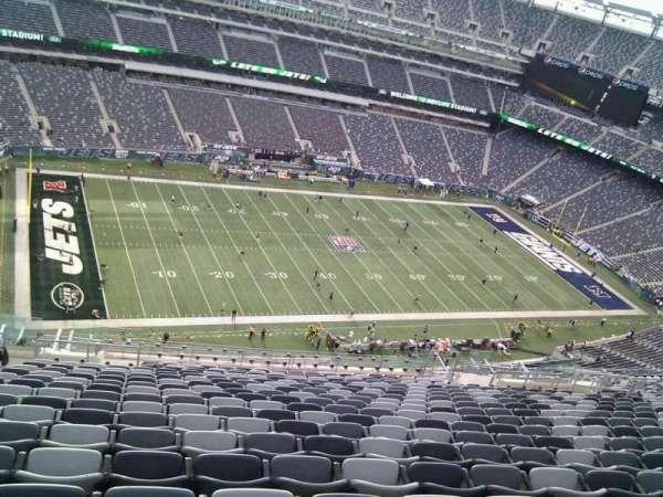 MetLife Stadium, secção: 317, fila: 26, lugar: 25