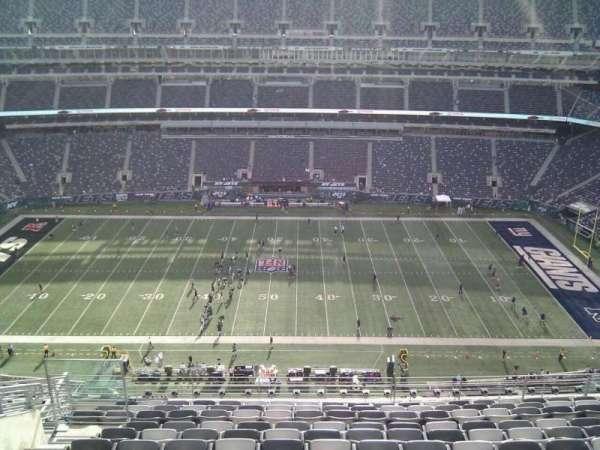 MetLife Stadium, secção: 313, fila: 16, lugar: 18
