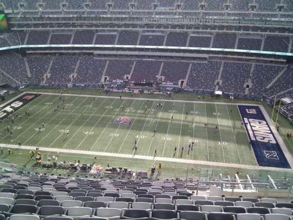 MetLife Stadium, secção: 312, fila: 20, lugar: 7