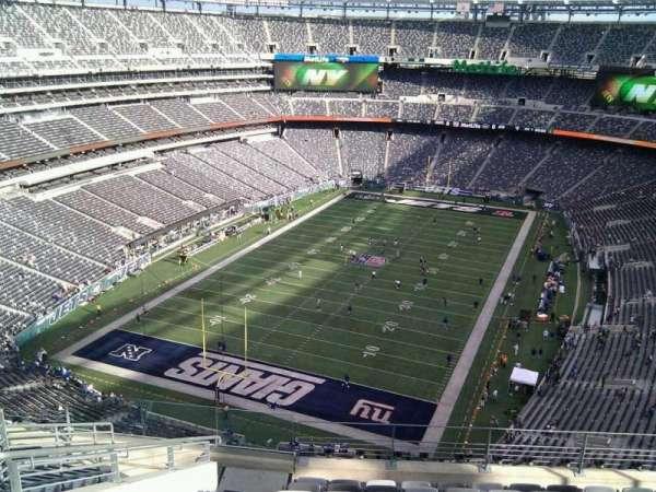 MetLife Stadium, secção: 348, fila: 14, lugar: 23