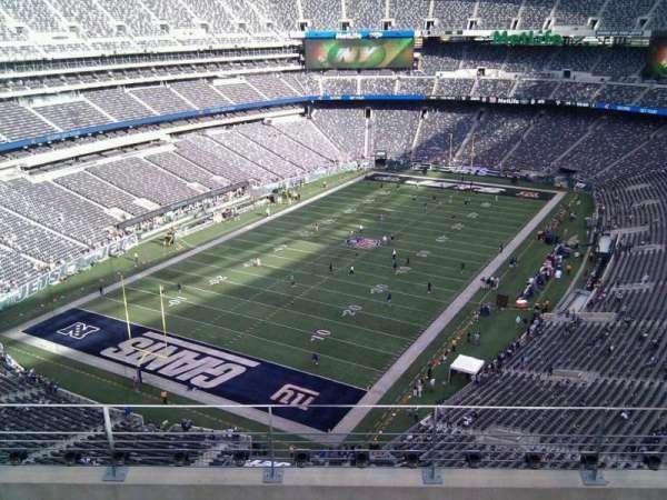 MetLife Stadium, secção: 347, fila: 10, lugar: 8