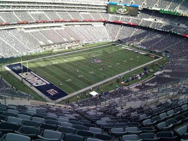 MetLife Stadium, secção: 345, fila: 21, lugar: 22
