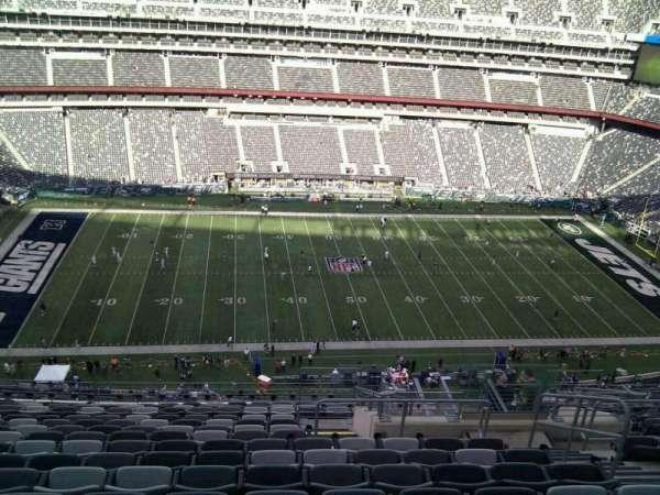 MetLife Stadium, secção: 340, fila: 19, lugar: 6