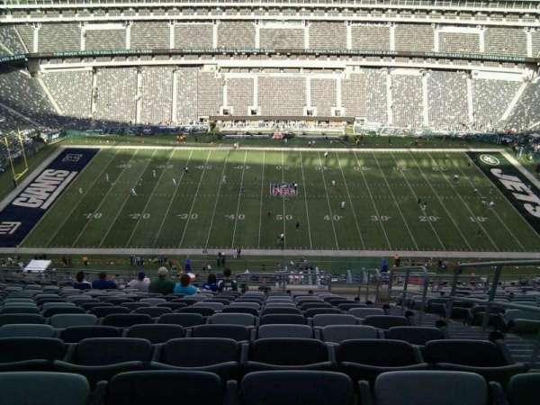MetLife Stadium, secção: 339, fila: 23, lugar: 3